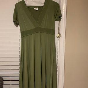 Light green, Flowy Dress, Size 2